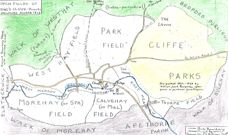 Maps of King's Cliffe